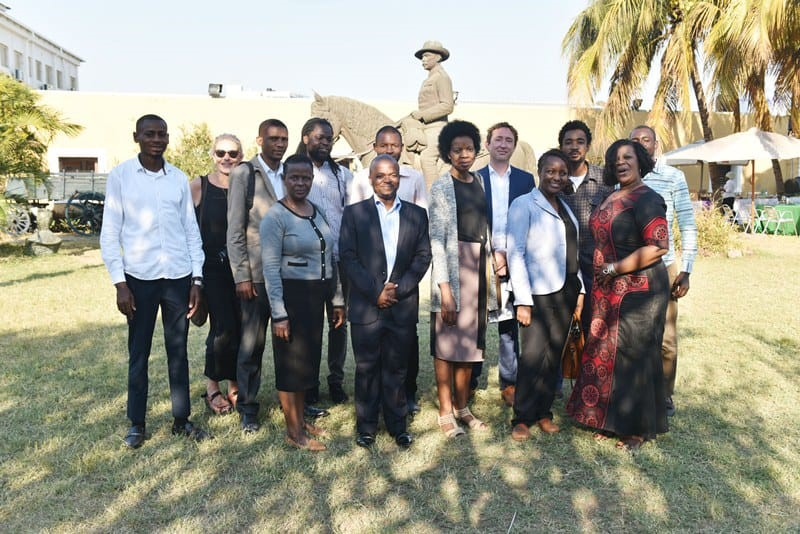 At the Project launch event, Fortress Museum, Maputo, July 2019