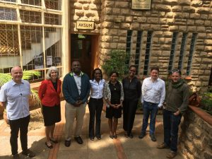 Meeting with the Kenyan Marine Fisheries Institute