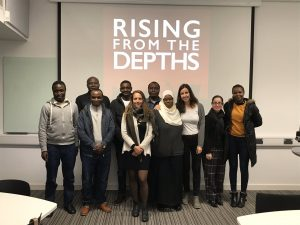 Rising from the Depths PhD Students at the SeaChange event