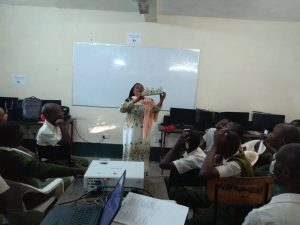 Woman teaching in school 2