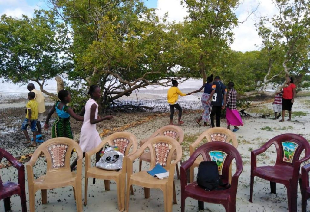School groups visiting Mida Creek (Field Data August, 2019)