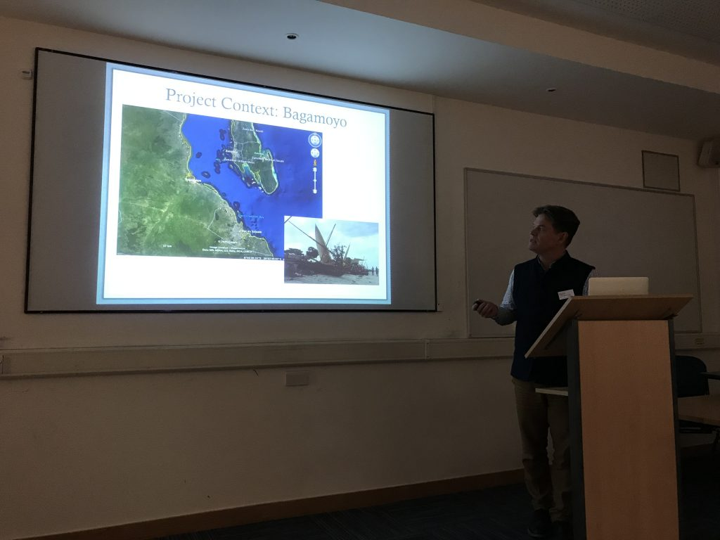 Presenter at Indian Ocean World Archaeology