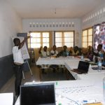 Project giving a presentation to a group