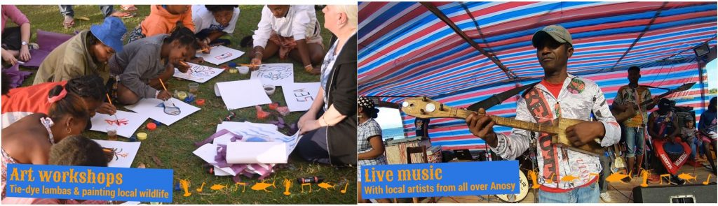 Art Workshops and Live Music at the Festival of the Sea