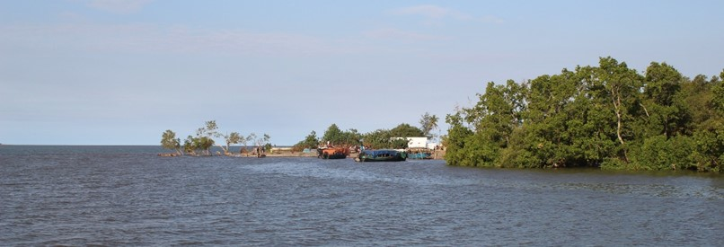Chinde Anchorage, Chinde River Mouth.