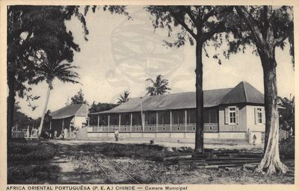 Old Chinde City Hall. Source www.act.iict.ptd