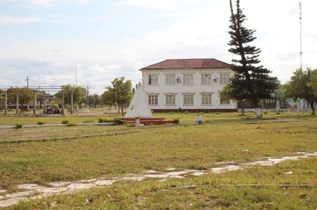 Old Colonial Square and Administration Building