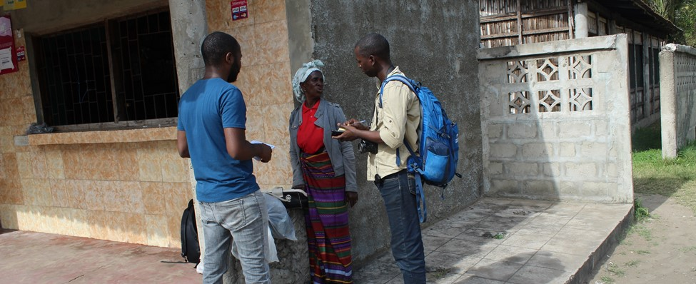 RMP AEHChinde-Mz (Roberto Mussibora and Joaquim Campira), in an interview with Mrs. Ema (native and resident of Chinde)