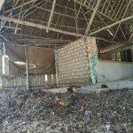 Visitors facilities abandoned