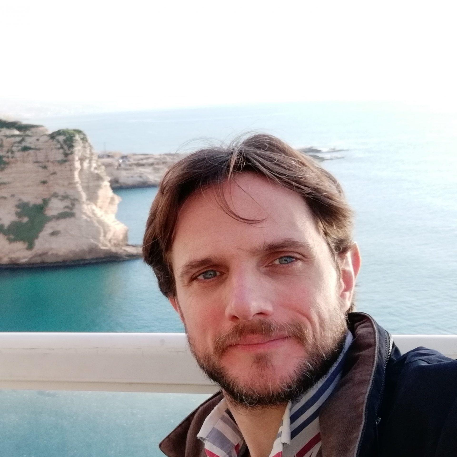 Arturo Rey da Silva in Beirut, Lebanon.